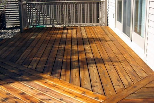 Deck Painting and Refinishing